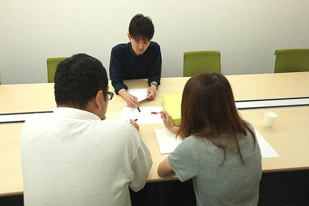 とある日のミーティング@北海道支社