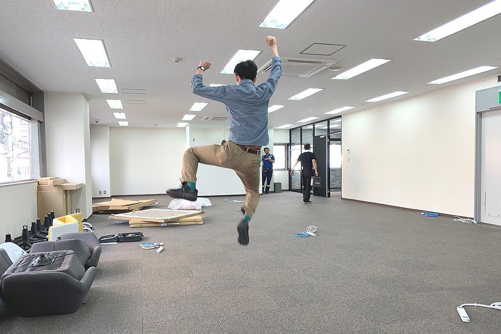 北海道支社、移転する。の巻