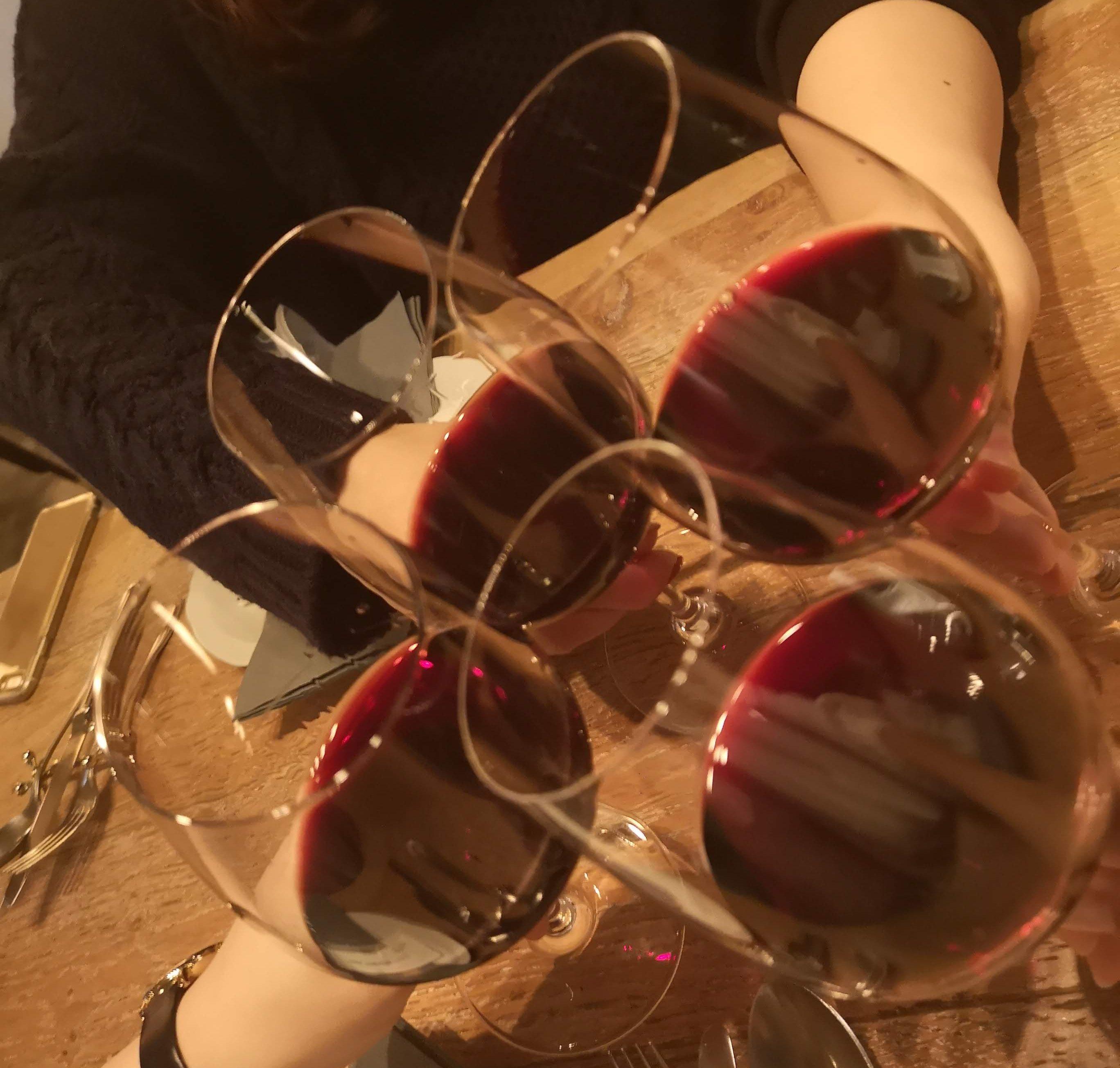 女子会にはワイン